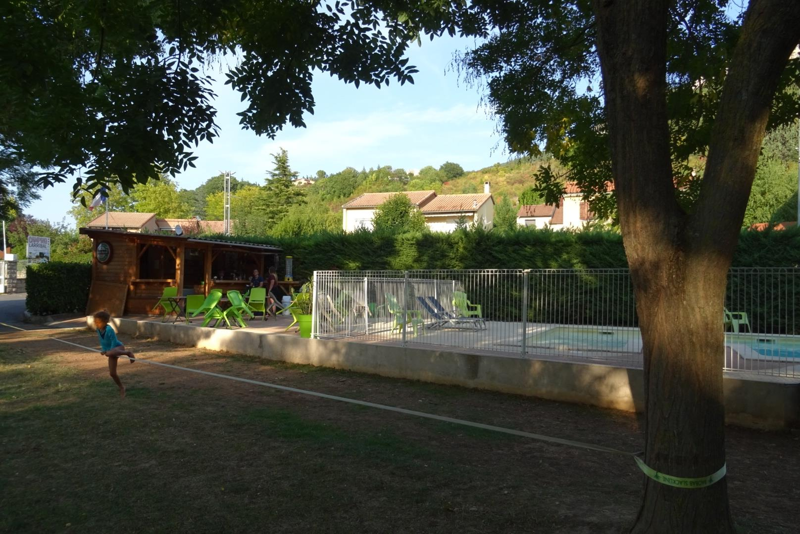 Entertainment organised Camping LARRIBAL - MILLAU