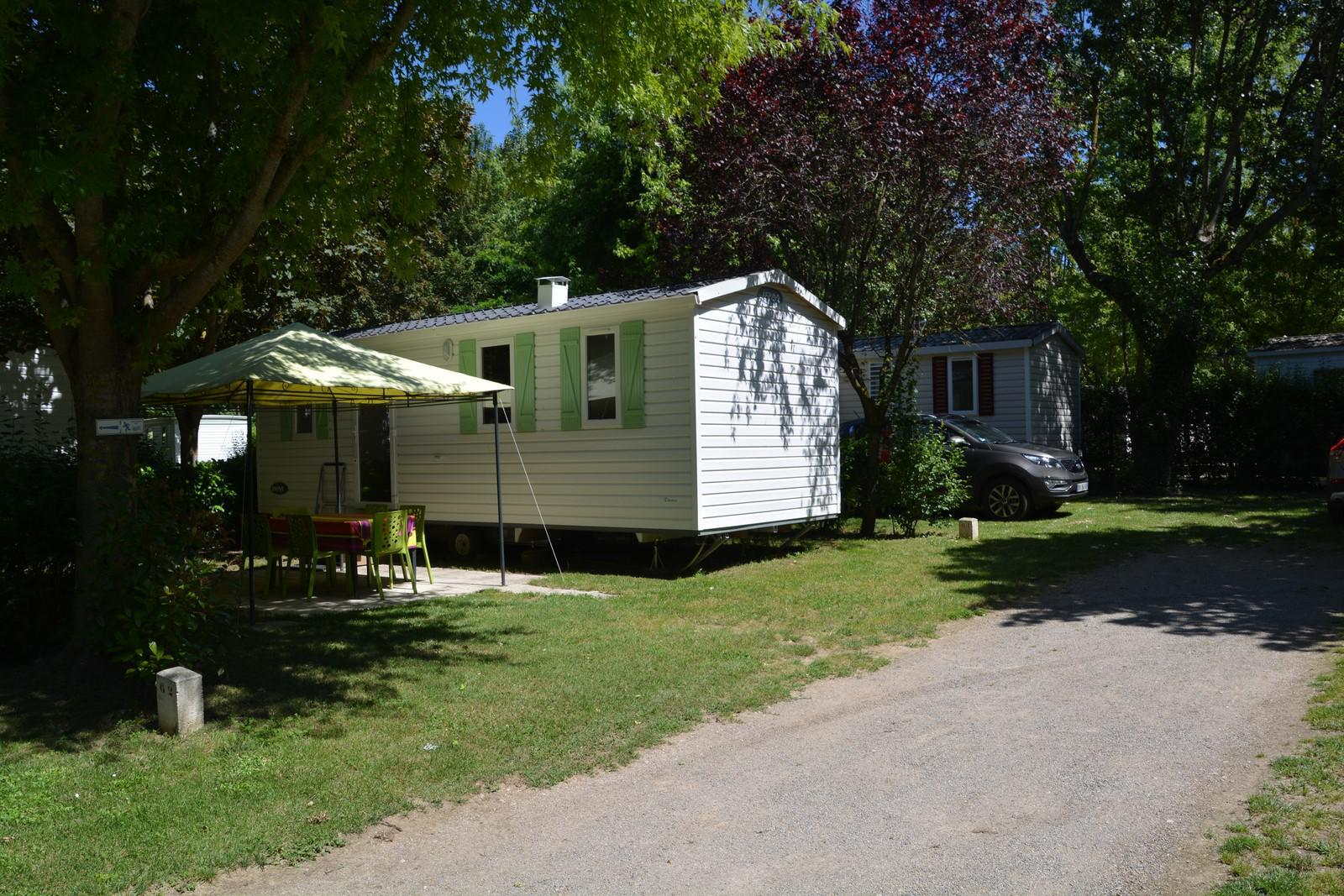 Location - Mobilhome Titania - Camping Les Erables