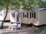 Rental - Mobilhome Titania (23.5 m² inside - 2 bedrooms) - Camping Les Bords du Tarn