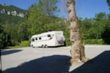 Pitch - PACKAGE PITCH STANDARD - Tent(s) / caravan + 1 car (or 1 motorhome), electricity 10 A - Camping Les Bords du Tarn