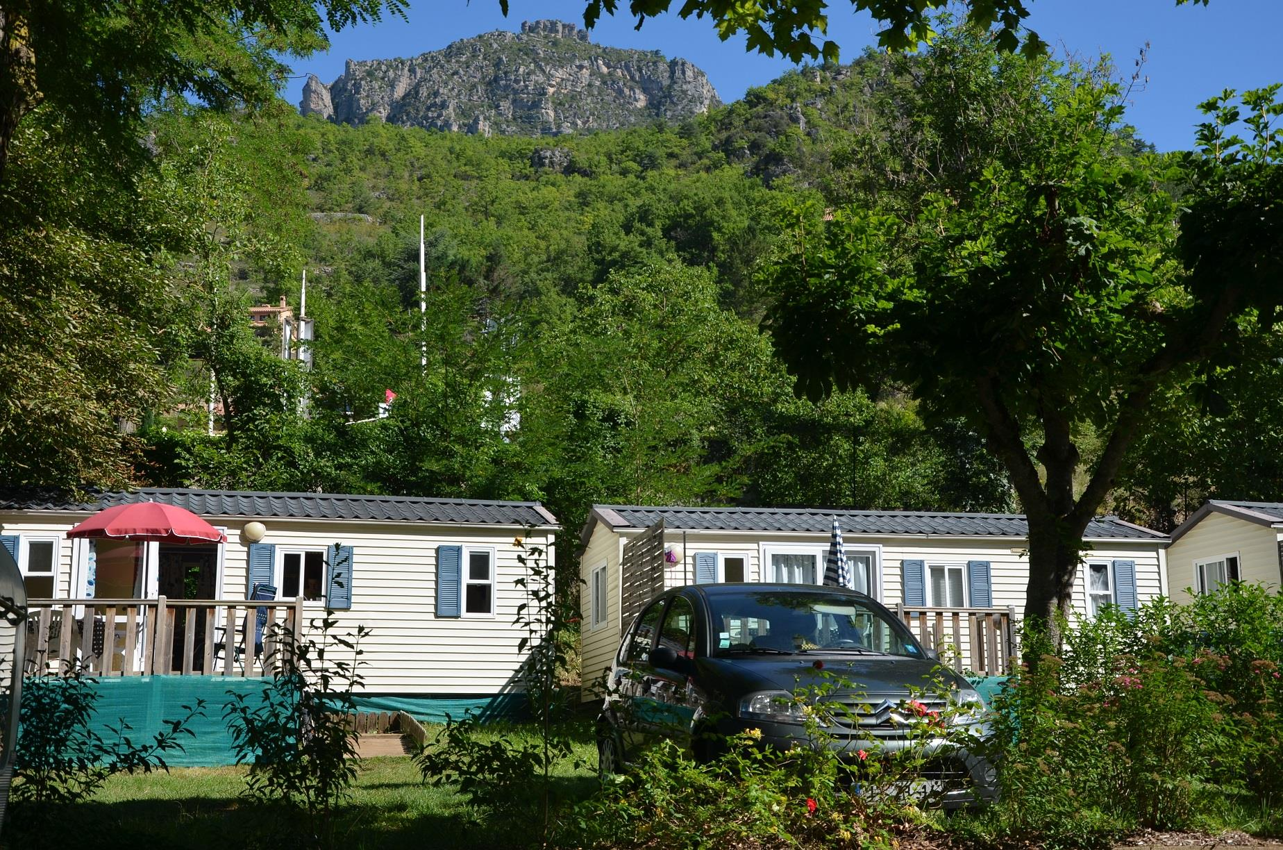 Accommodation - Mobilhome Terrace - Camping LA MUSE