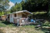 Rental - Canvas bungalow 19m² - Camping LES PRADES
