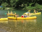 Sport activities Camping Les Prades - Mostuejouls