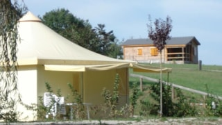 Funflower ECO 25 m² (2 bedrooms) with toilet block