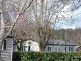 Rental - Mobilhome CONFORT + 30 m² (3 bedrooms) (1 to 5 et 5 to 10 years old) - Flower Camping du Lac de Bonnefon