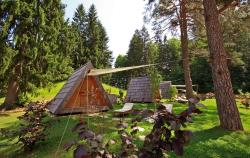 2 Glamping Huts For Families