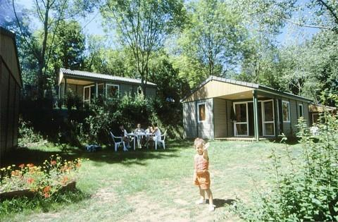Rental - Chalet Grand Confort 35M² - 2 Bedrooms - Parc Camping Du Lac