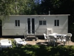 Rental - Mobil-home Eco 22m² (2 bedrooms) + 10 years - Flower Camping LES TERRASSES DU LAC