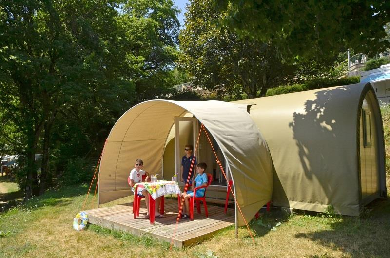 Accommodation - Coco Sweet 16M² (2 Bedrooms) Without Toilet Blocks - Camping Les Terrasses du Lac