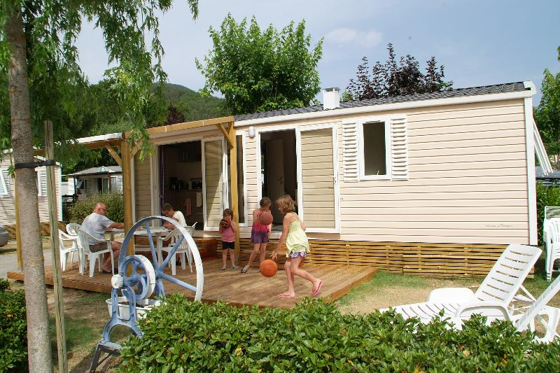 Rental - Mobile Home 3 Bedrooms Premium - Camping Canoë Gorges Du Tarn