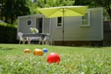 Rental - Mobil-home Confort + 31m² 3 bedrooms - Flower Camping PEYRELADE