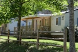 Rental - Mobile home  LOUISIANE Confort + 37m² 3 bedrooms - Flower Camping PEYRELADE