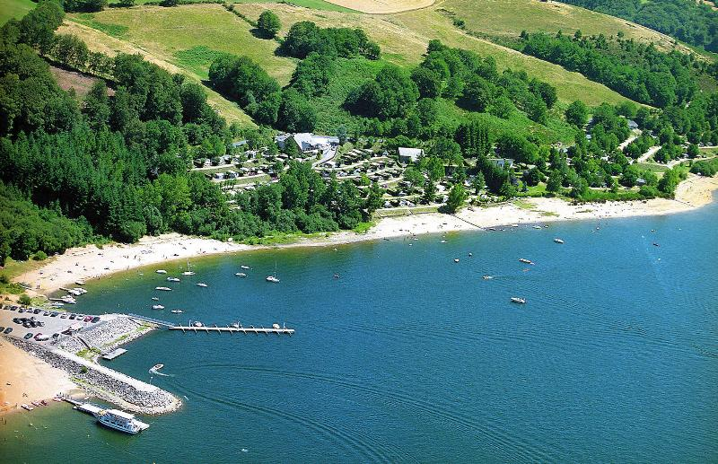 Camping Beau Rivage, Salles-Curan, Aveyron