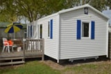 Rental - Mobile-Home Comfort Half-Covered Terrace - Camping L'Anse des Pins