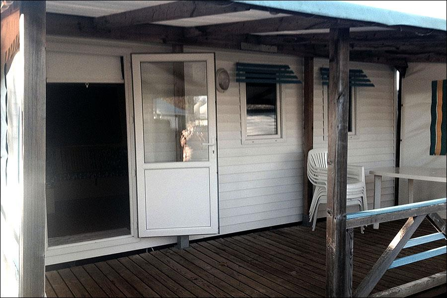 Mobile home 2 bedrooms - sheltered terrace