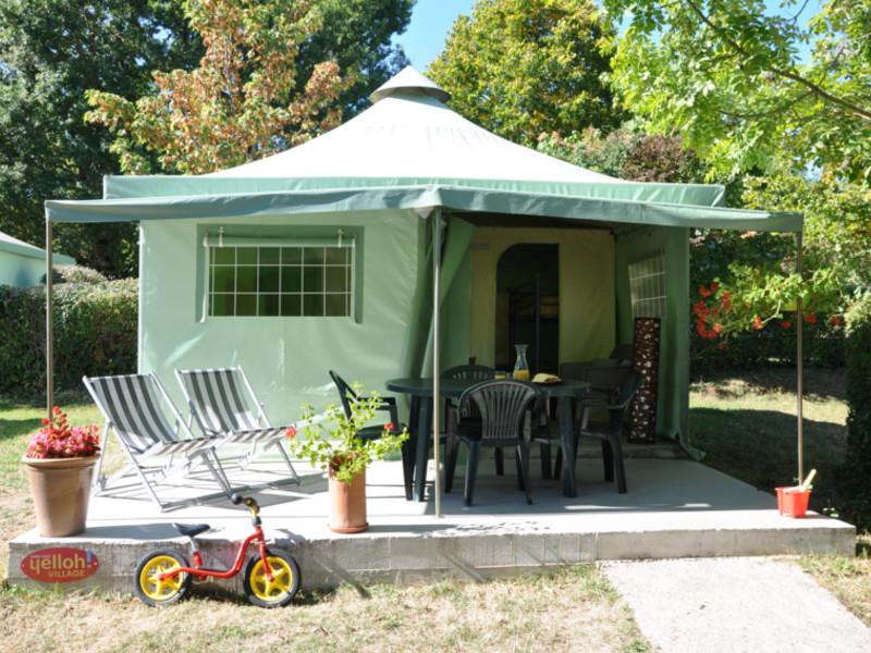 Accommodation - Furnished Tent 2 Bedrooms ** - YELLOH! VILLAGE - LA GRANGE DE MONTEILLAC