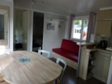 Rental - Mobil-Home CONFORT Cosy Plus 32m² - 3 bedrooms (+ Dishwasher) - Camping LES CALQUIERES