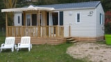 Rental - Mobil-Home Confort Sunny 30 M² - 2 Bedrooms (+ Dishwasher) - Camping LES CALQUIERES
