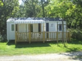 Rental - Mobil-Home Confort Sunny 30 M² - 2 Bedrooms + Dishwasher (Sunday) - Camping LES CALQUIERES
