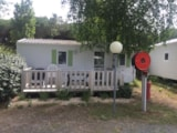 Rental - Mobil-Home Eco Funny - Terrace - 2 Bedrooms - Camping LES CALQUIERES