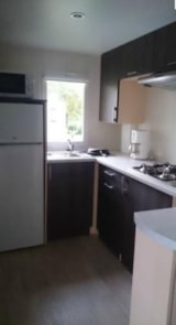 Rental - Mobile-Home PREMIUM Happy 30m² - 2 bedrooms (sunday) - Camping LES CALQUIERES