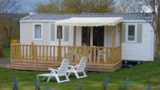 Rental - Mobil-Home PREMIUM Cosy 32m² - 3 bedrooms (sunday) - Camping LES CALQUIERES