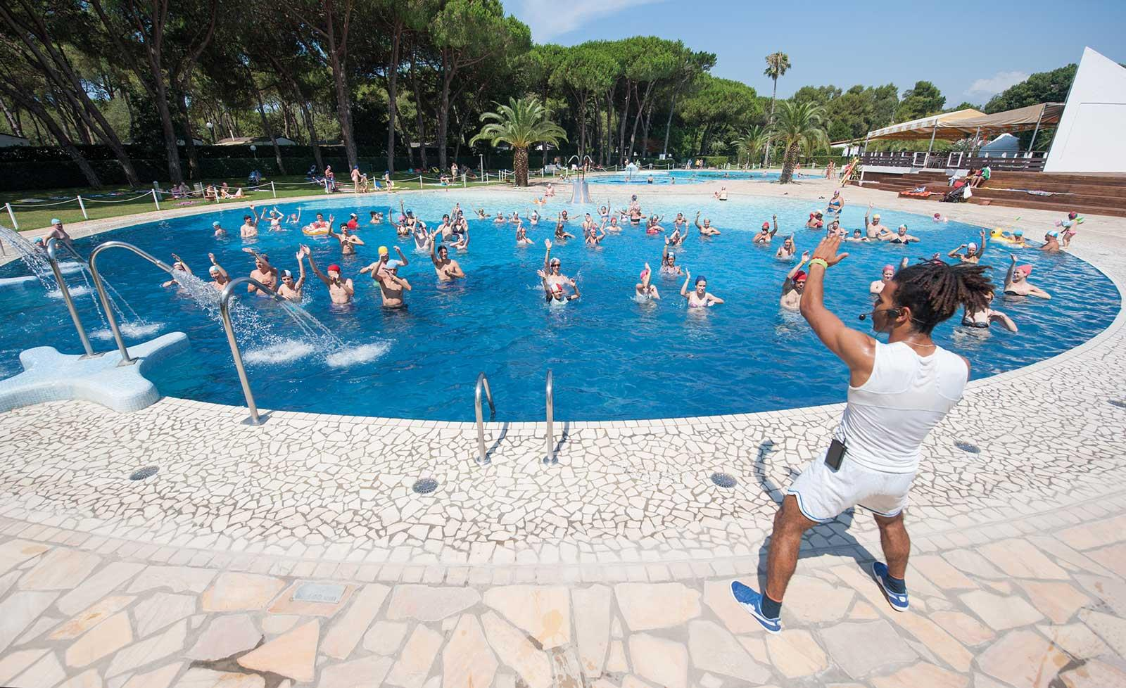 Bathing Baia Domizia Villaggio Camping - Baia Domizia