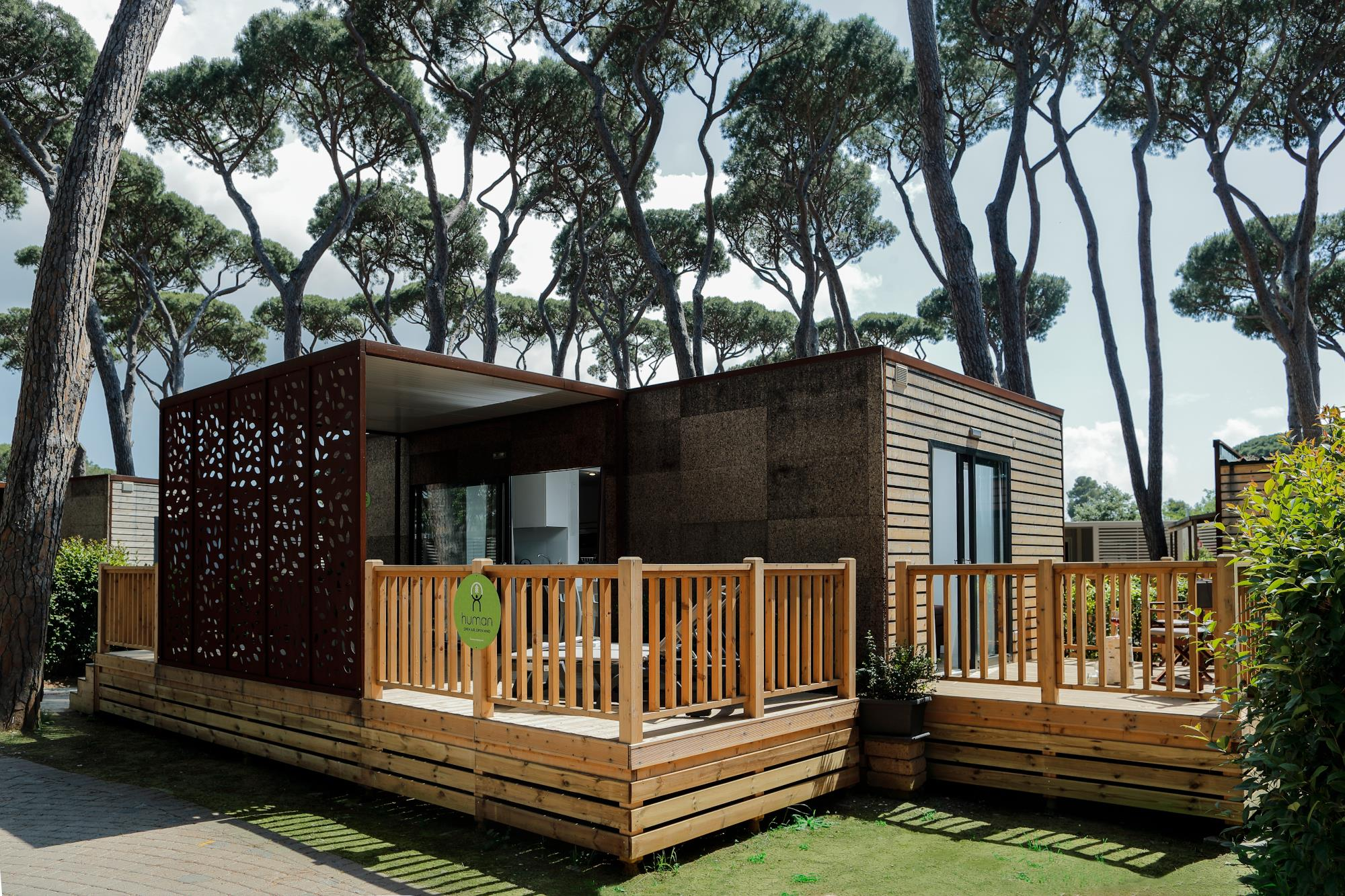 Location - Mobile Home Greeny (Exclusive) - Camping Montescudaio