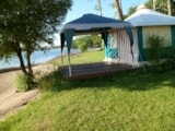 Rental - Canvas bungalow 16 m² - Camping Le Saint Etienne