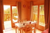 Rental - Tree house 24m² / 1 bedroom - sheltered terrace - Camping Domaine de  La SERRE