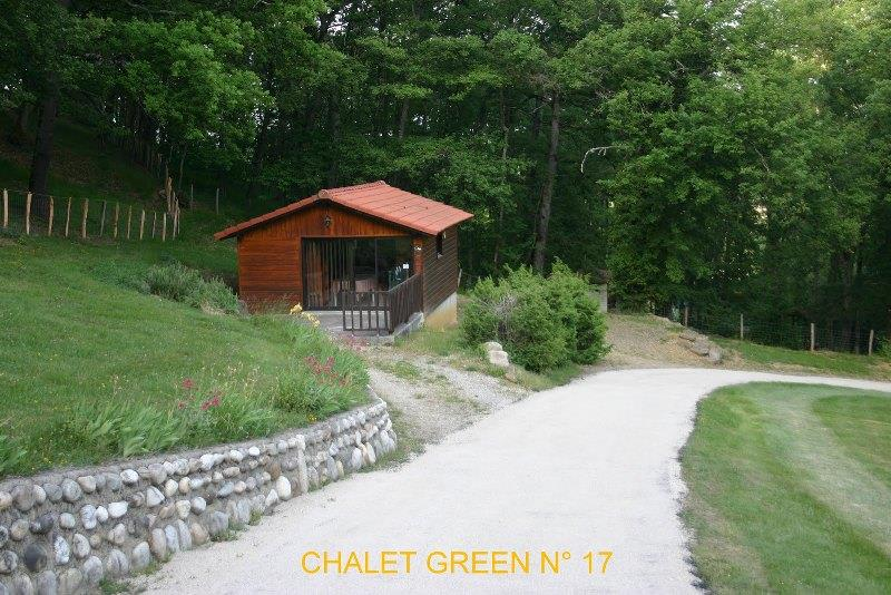 Chalet GREEN 35m² / 2 camere - terrazzo
