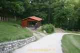 Rental - Chalet Green 35M² / 2 Bedrooms - Terrace - Camping Domaine de  La SERRE
