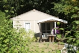 Rental - Chalet REVE / 2 bedrooms - Terrace (adapted to the people with reduced mobility) - Camping Domaine de  La SERRE