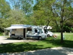 Caravan And Camping Lincoln Farm Park Oxfordshire - Standlake