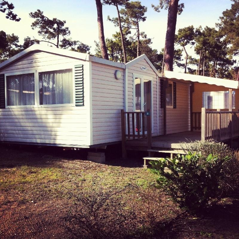 Location - « Mobil-Home Etoile De Mer » 2 Chambres - Camping-Club Les Pins