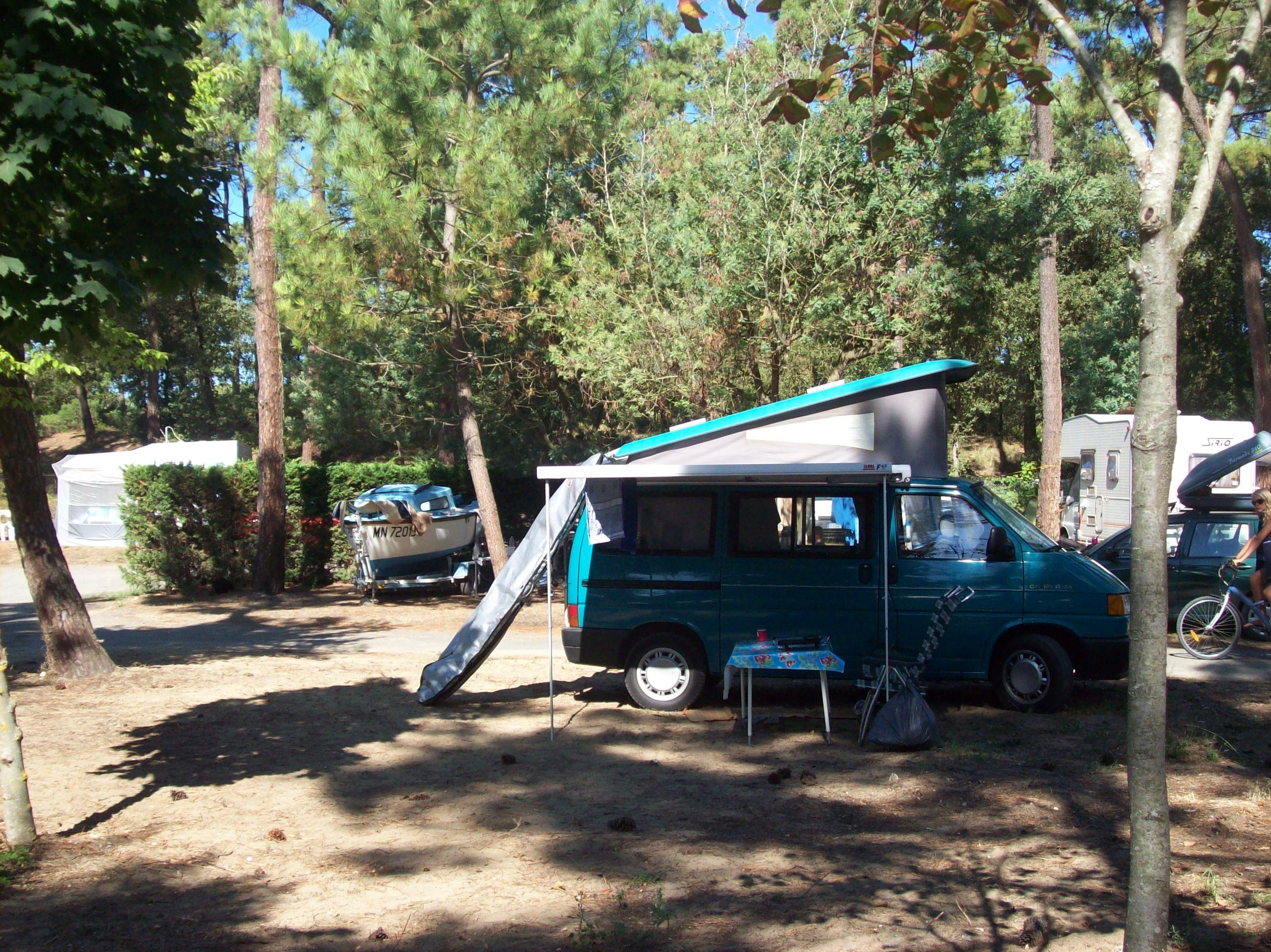 Emplacement - Emplacement Branché - Camping-Club Les Pins