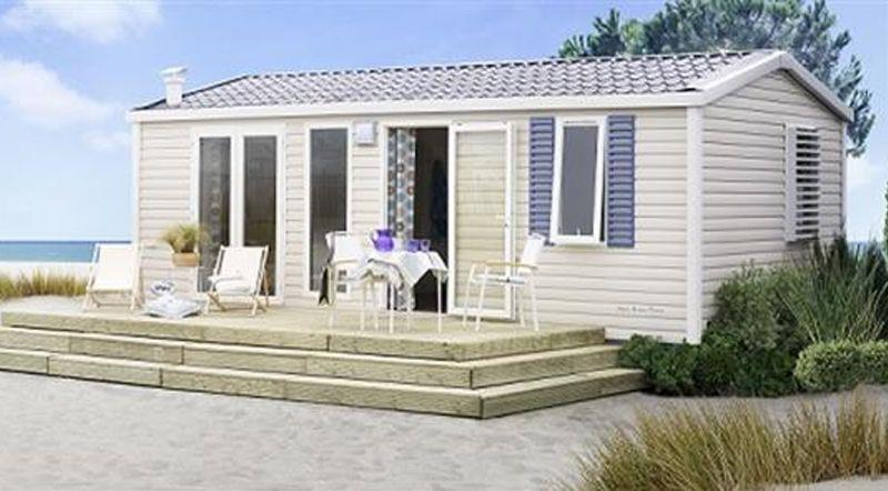 Location - « Mobil-Home Petoncle » 2 Chambres - Camping-Club Les Pins