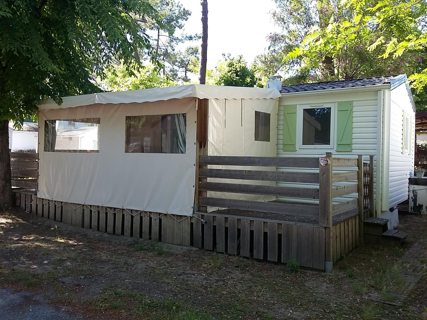 Location - « Mobil-Home Seiche » 2 Chambres - Camping-Club Les Pins