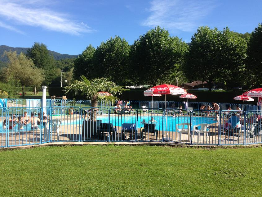 Bathing Camping Les 4 Saisons - Oust