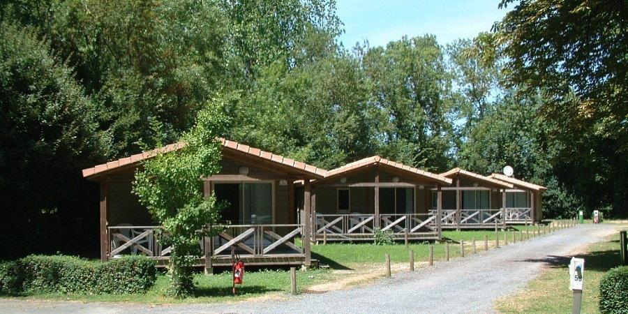 Location - Chalet 21M² - Camping Le Bois Dinot