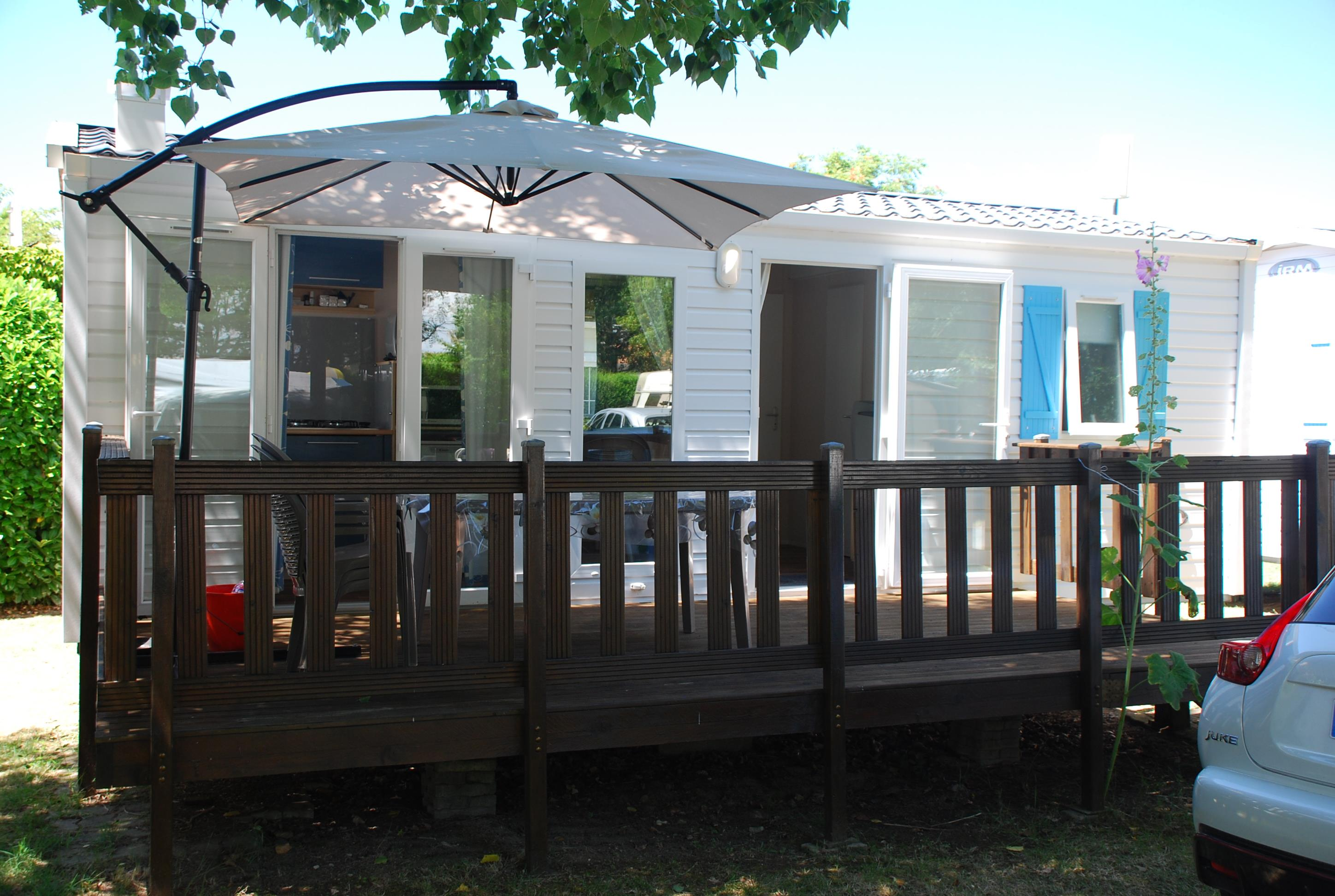 Huuraccommodaties - Stacaravan Super Mercure Riviera - Camping La Borderie