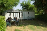 Rental - Mobile-Home Eco 20M² 2 Bedrooms - Without Sanitary - Flower Camping LES MIJEANNES