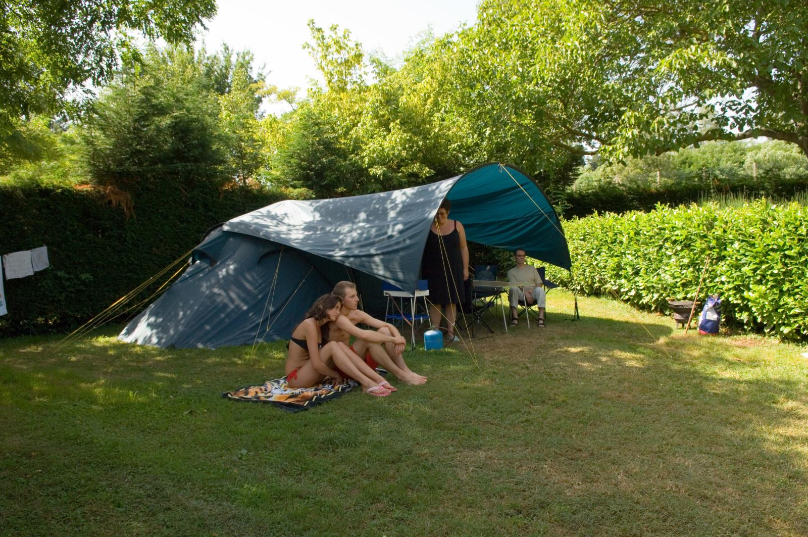 Emplacement - Forfait Ready To Camp - Camping Les Mijeannes