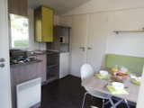 Rental - Mobil home - 2 Rooms - Camping Audinac les Bains