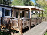 Rental - Mobilhome For Person With Reduced Mobility - Camping Audinac les Bains