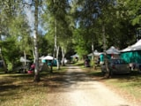 Pitch - Package 1 tent /electricity - Camping Audinac les Bains