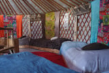 Rental - One week on our mobile home campsite including a night in a yurt with breakfast at 1200 m altitude - Camping Audinac les Bains