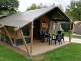 Rental - Tent Lodge - Camping Audinac les Bains