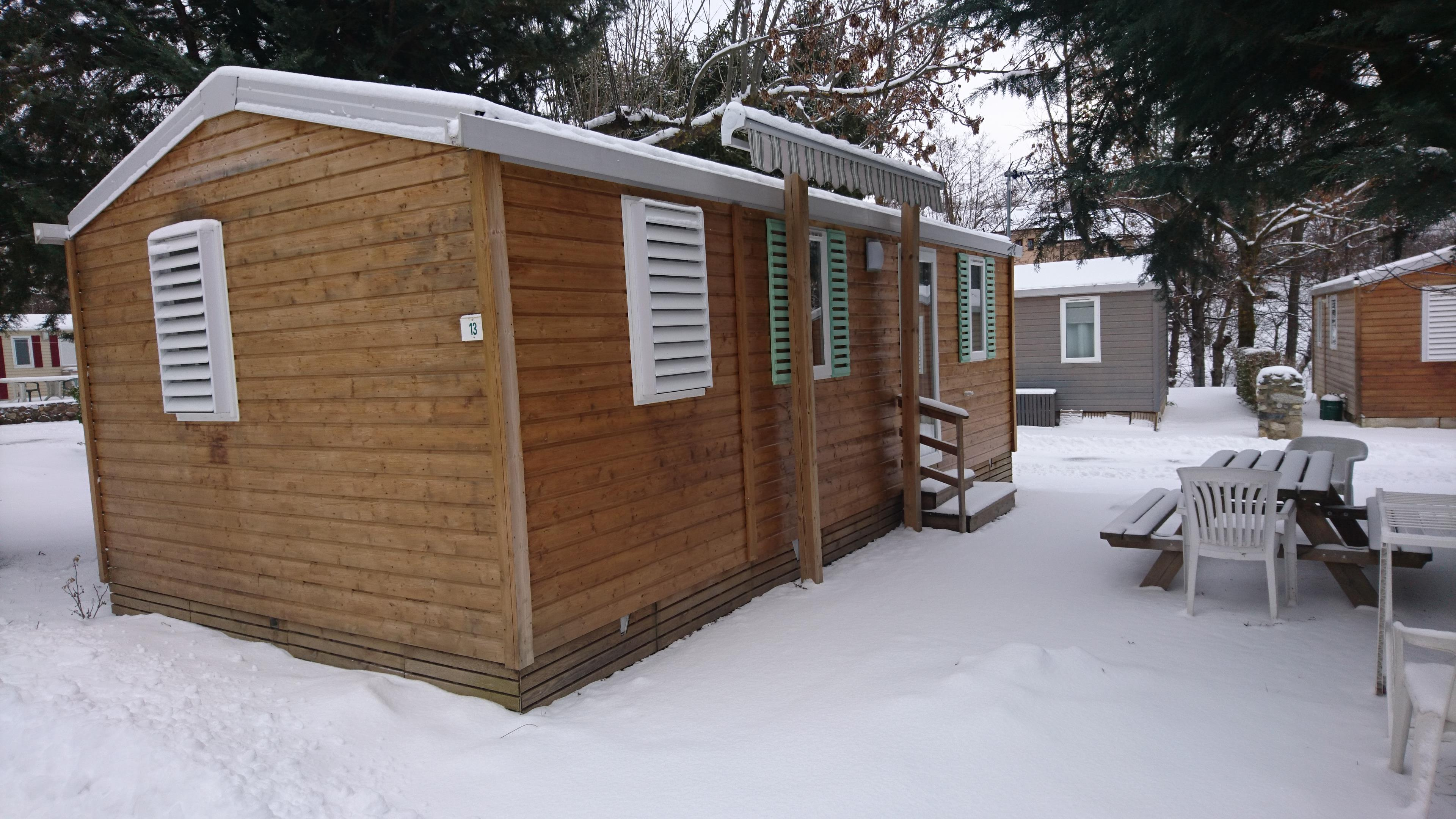 Mobilhome RHODODENDRON 32m²