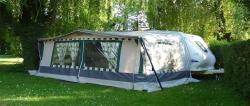 Location - Caravane 4 Places - Camping Nant Matraz